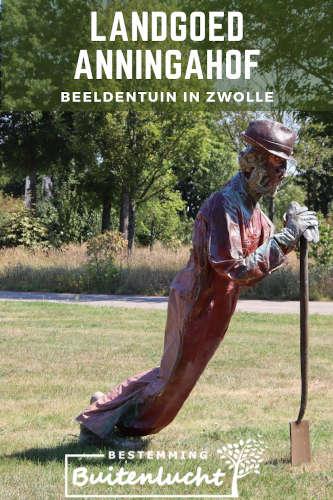 Beeldentuin in Zwolle pin
