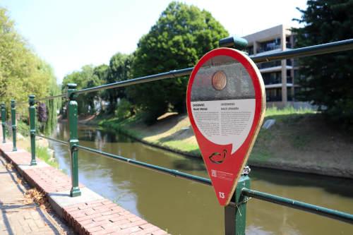 Voorbeeld van een Roermondje, als onderdeel voor sightseeing in Roermond